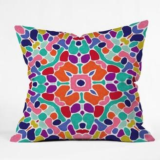 East Urban Home Jacqueline Maldonado Boho Indoor/Outdoor Throw Pillow