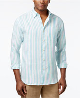 Tommy Bahama Men's Big & Tall Linen Pintado Striped Shirt