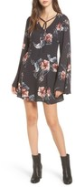 Somedays Lovin Women's Homecoming Floral Print Dress
