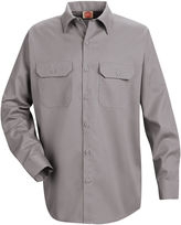 JCPenney Red Kap ST52 Utility Uniform Shirt-Big & Tall