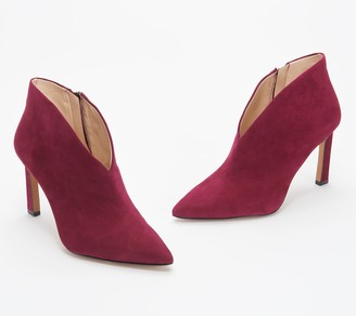 Vince Camuto Pointy Toe Heeled Booties - Sestrinda