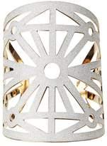 Charlotte Russe Shimmering Laser Cut Cuff Bracelet