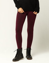 JUST ONE Cable Knit Womens Leggings
