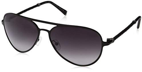 John Varvatos Unisex-Adult V514 V514BLA61 Aviator Sunglasses