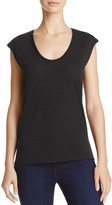 Theory Madya Scoop-Neck Tee