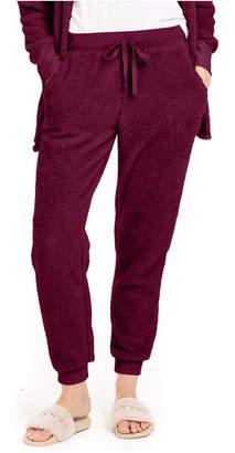 Hippie Rose Juniors' Plush Jogger Pants