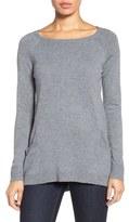 Caslon Side Pocket Tunic Sweater (Regular & Petite)