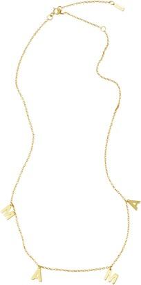ADORNIA Mama Shaker Necklace