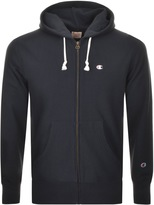 Champion Full Zip Hoodie Navy