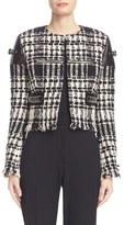 Alexander Wang Bouclé Tweed Jacket