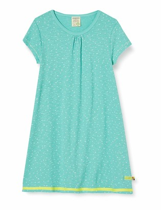 loud + proud Girl's Dress Waffle Knit Organic Cotton