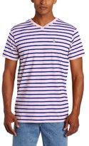 U.S. Polo Assn. Men's Short-Sleeve Narrow Striped T-Shirt