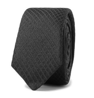 Saint Laurent 4cm Silk-Blend Jacquard Tie