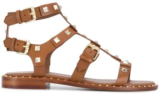 Ash Studded Caged Sandals