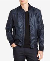 Calvin Klein Jeans Men's Shiny Bomber Jacket