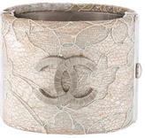 Chanel CC Lace Bangle