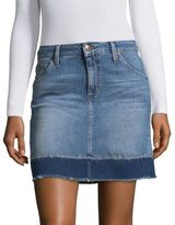 Faded Denim Skirt - ShopStyle