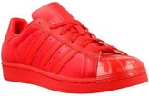 adidas Superstar Glossy Toe W Red