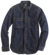 J.Crew Selvedge indigo denim shirt