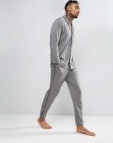 Asos Pajama Bottom With Black Piping