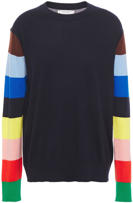 Chinti and Parker Color-block Cashmere Sweater