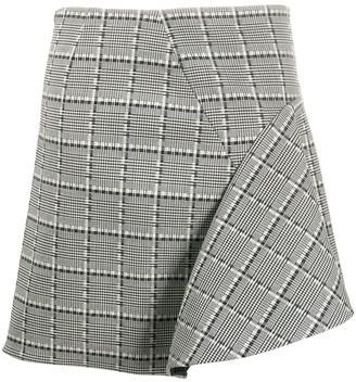 Versace Prince of Wales check mini skirt