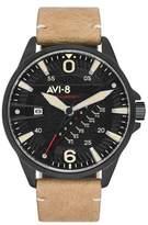AVI-8 Hawker Harrier Ii Black Stainless Steel Watch Av-4055