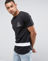 Jack and Jones Stripe Logo T-Shirt