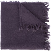 Rick Owens frayed scarf - men - Cashmere - One Size