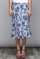 Do & Be Stripe Floral Skirt