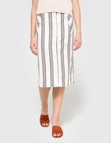 Lucie Striped Skirt