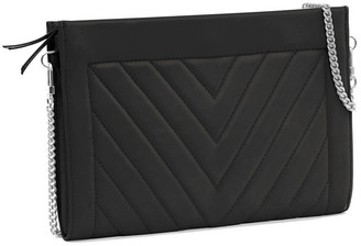 Leigh Ann Barnes Gamechanger Classic Quilted Zip Bag, Black