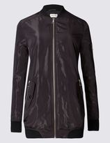 Marks and Spencer Faux Fur Lined Bomber Jacket