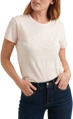 Lucky Brand Surfrider Malibu Graphic Tee
