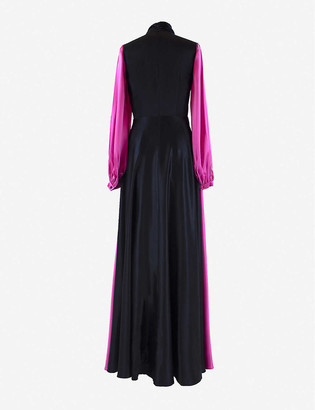 Roksanda Lela bow-detail silk maxi dress