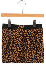 Little Marc Jacobs Girls' Printed Draped Skirt
