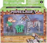 Minecraft Minecraft Alex & Skeleton Pack