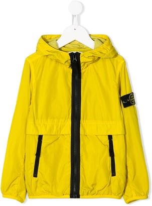 Stone Island Junior Lightweight Hooded Rain Jacket