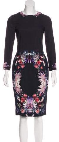 Givenchy Floral Midi Dress