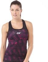 Skechers Womens Star Performance Strappy Support Vest Fuchsia