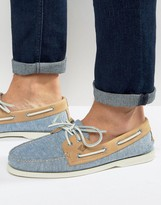Sperry Linen Boat Shoes