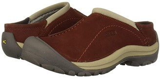 Keen Kaci Slide (Fired Brick/Plaza Taupe) Women's Slide Shoes