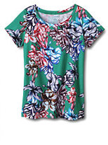 Classic Women's Art T Shirt-Caribbean Aqua