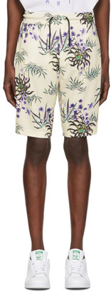 Kenzo White Tech All Over Shorts