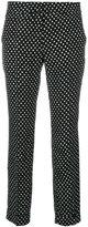 Etro cropped polka dot trousers - women - Viscose - 40