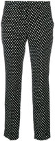 Etro cropped polka dot trousers