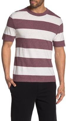Vince Heather Stripe Knit T-Shirt