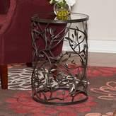 Linon Bird & Branch End Table