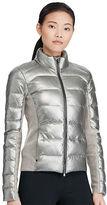 Polo Ralph Lauren Metallic Lambskin Down Jacket
