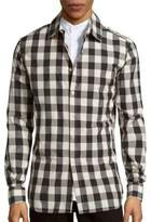 Pierre Balmain Checked Cotton Shirt